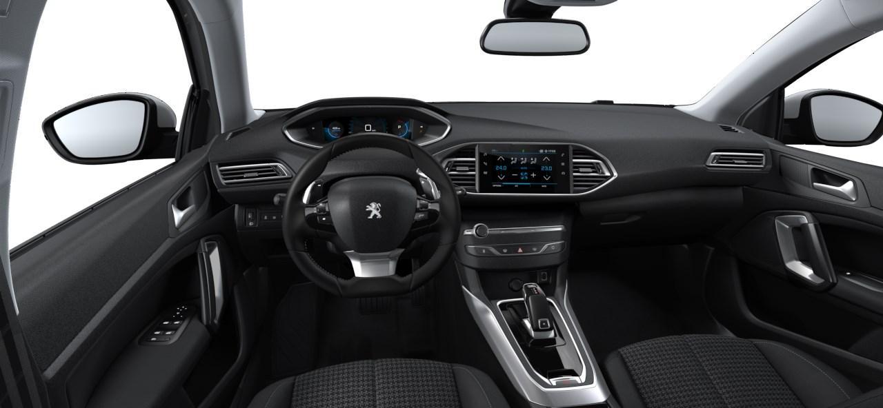 Renting Peugeot 308 Interior