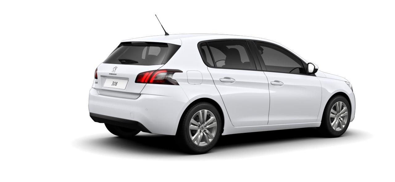Renting Peugeot 308