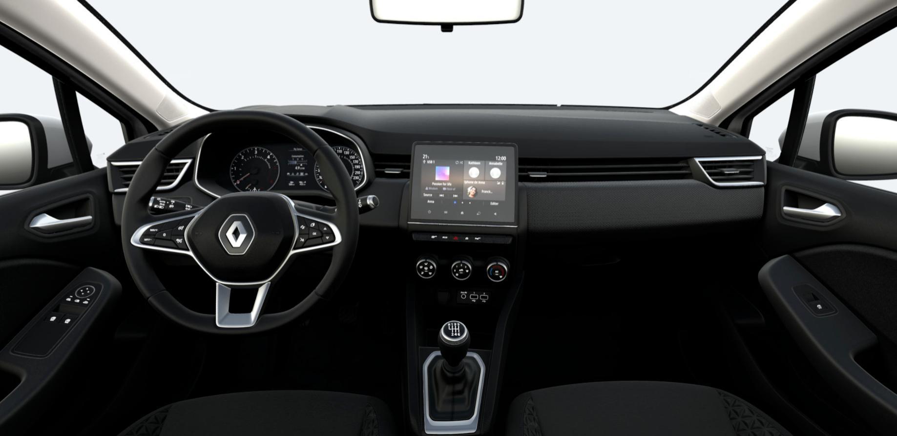 Interior Renault Clio Interior Frontal