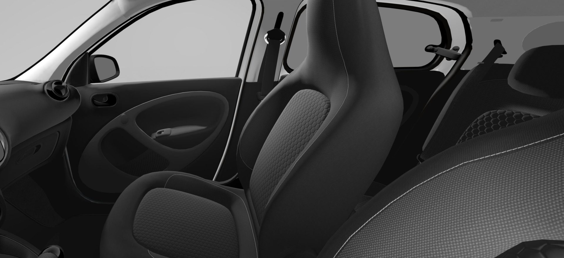 Renting Smart ForFour Asientos