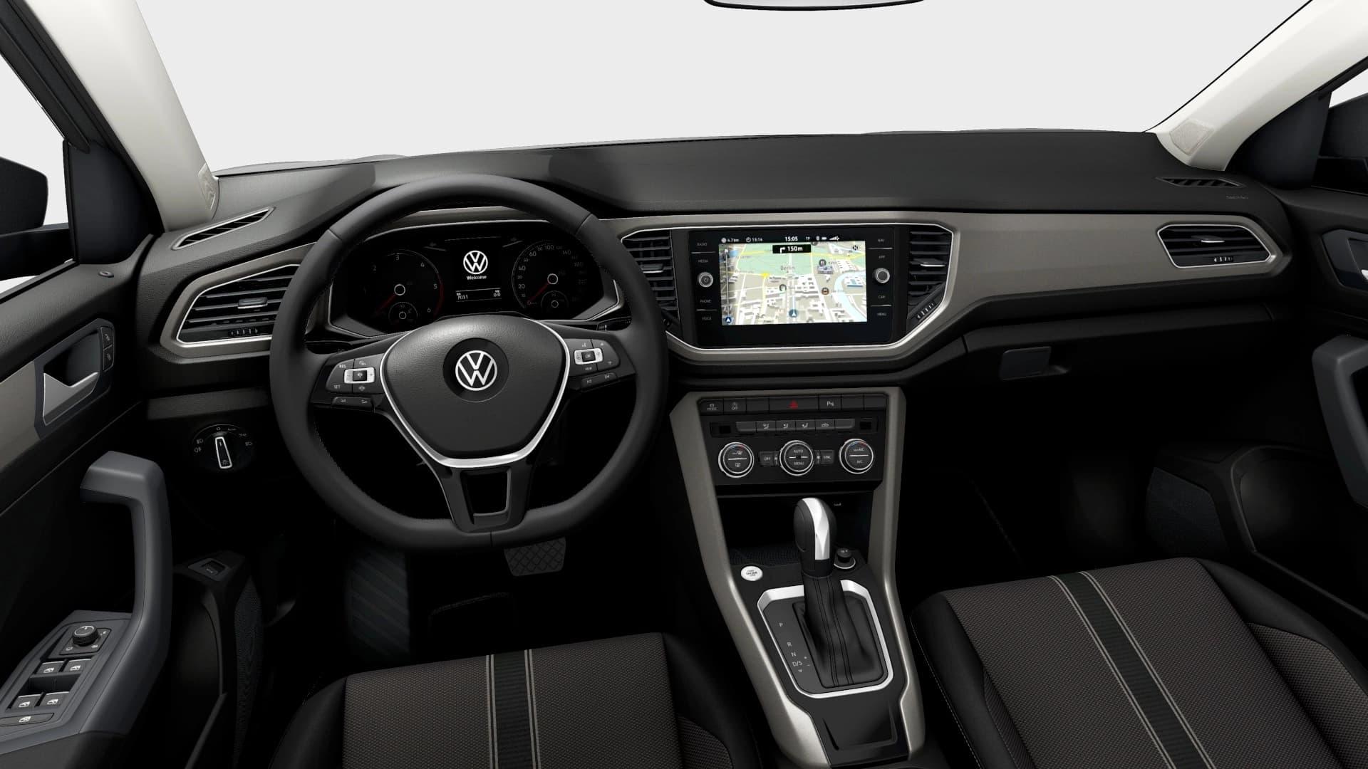 Renting Volkswagen T-Roc Interior