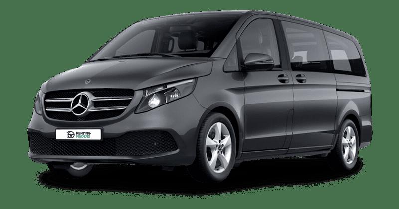 Renting Mercedes Clase V