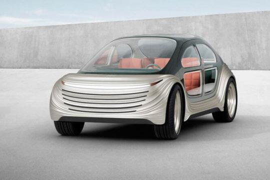 Conoce el Airo, el coche eléctrico que purifica el aire presentado en el Salón de Shanghai