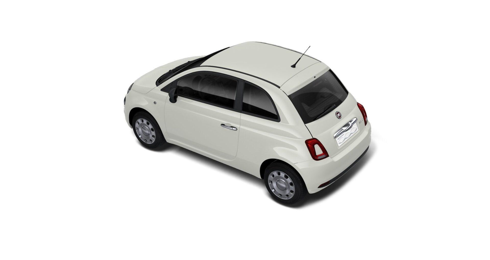 Renting Fiat 500 Cult Híbrido