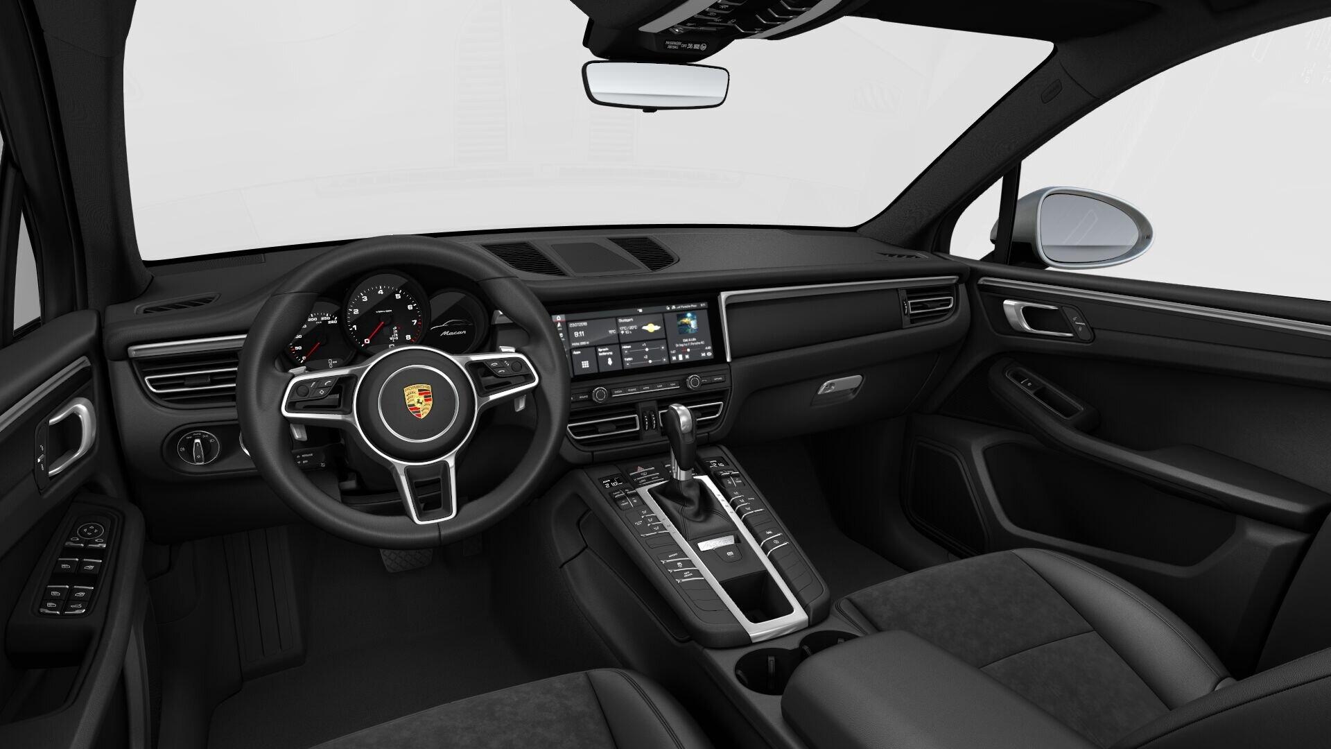 Renting Porsche MacanTribute
