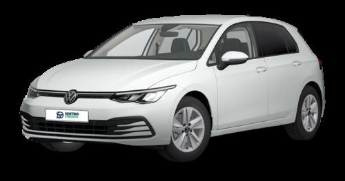 volkswagen, blanco, puro, renting, oferta, marca, compacto, coche, vehículo, cuota