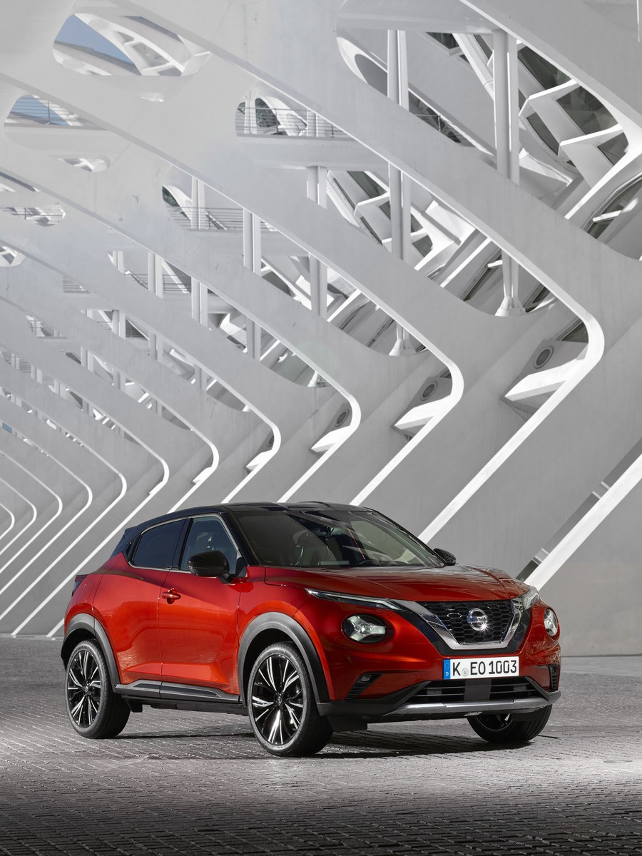 Renting Nissan Juke