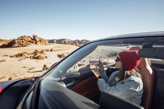 Descubre en coche los mejores desiertos